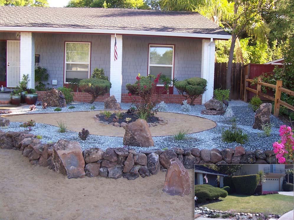 Zen conversion garden for Garden conversion